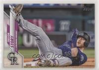 SP Photo Variation - Trevor Story (Sliding)