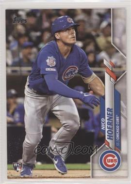 2020 Topps - [Base] #70.1 - Base - Nico Hoerner (Blue Jersey)