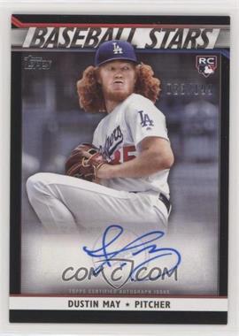 2020 Topps - Baseball Stars Autographs - Black #BSA-DM - Dustin May /199