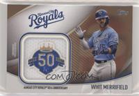 Whit Merrifield #/25