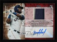 Yordan Alvarez [EX to NM] #/25