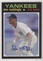 Don Mattingly #/25