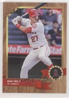 Mike Trout #/1,999