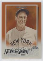 Lou Gehrig #/25