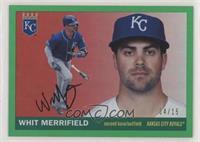 1955 Topps - Whit Merrifield #/15