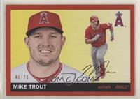 1955 Topps - Mike Trout #/75