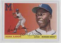 1955 Topps - Hank Aaron (Action Image in Color)