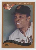 2002 Topps - Willie Mays