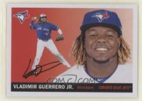 1955 Topps - Vladimir Guerrero Jr. (Action Image in Color)