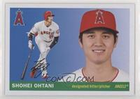 1955 Topps - Shohei Ohtani (Action Image in Color)