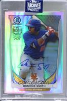 Dominic Smith (2014 Bowman Chrome Top Prospects Refractor) [BuyBack] #/1