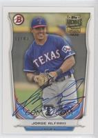 Jorge Alfaro (2014 Bowman Draft Picks & Prospects - Top Prospects) #/43