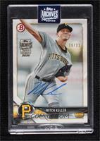 Mitch Keller (2018 Bowman Prospects) [BuyBack] #/21