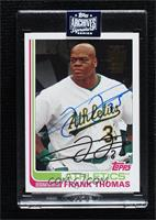 Frank Thomas (2017 Topps Archives) [Uncirculated] #/1