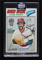 Luis Tiant (1977 Topps) [BuyBack] #/39