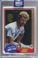Jerry Remy (1981 Topps) [BuyBack] #/99