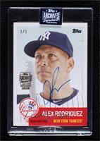 Alex Rodriguez (Topps BCW) #/1