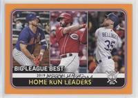 League Leaders - Pete Alonso, Cody Bellinger, Eugenio Suarez