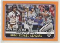 League Leaders - Anthony Rendon, Cody Bellinger, Ronald Acuna Jr.