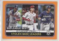League Leaders - Christian Yelich, Trea Turner, Ronald Acuna Jr.
