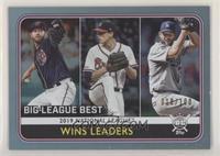 League Leaders - Clayton Kershaw, Max Fried, Stephen Strasburg #/100