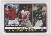 League Leaders - Marcus Semien, Rafael Devers, Mookie Betts