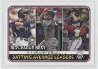 League Leaders - Ketel Marte, Anthony Rendon, Christian Yelich