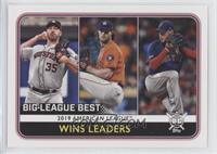 League Leaders - Eduardo Rodriguez, Gerrit Cole, Justin Verlander