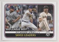League Leaders - Will Smith, Josh Hader, Kirby Yates