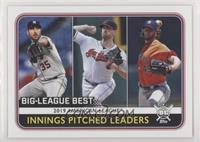 League Leaders - Gerrit Cole, Shane Bieber, Justin Verlander