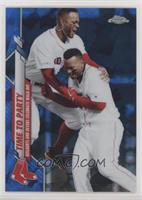 Veteran Combos - Time to Party (Bogaerts and Devers Celebrate Walk-Off)