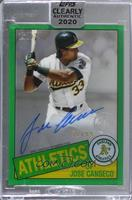 Jose Canseco [Uncirculated] #/99