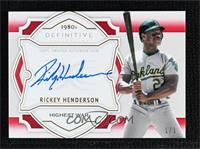Rickey Henderson #/1