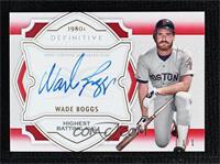 Wade Boggs #/1