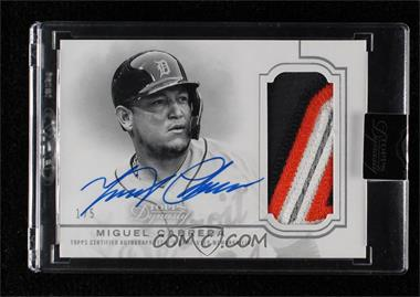 2020 Topps Dynasty - Autograph Patches - Silver #DAP-MC7 - Miguel Cabrera /5 [Uncirculated]