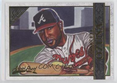 2020 Topps Gallery - [Base] - Artist Proof #7 - Marcell Ozuna