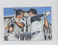 Don Mattingly, Aaron Judge (Artist: John Giancaspro) [EX to NM] #/1