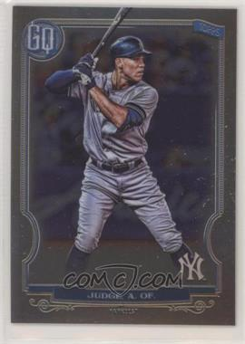 2020 Topps Gypsy Queen - [Base] - Box Topper Chrome #50 - Aaron Judge