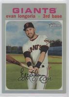 Evan Longoria #/571