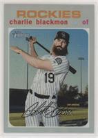 Mega Box - Charlie Blackmon #/571