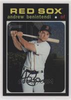 Andrew Benintendi #/999