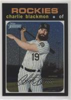 Mega Box - Charlie Blackmon #/999