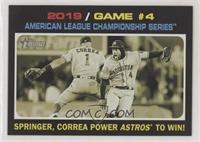 Playoff Highlights - George Springer, Carlos Correa