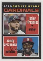 Rookie Stars - Randy Arozarena, Junior Fernandez