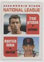 Rookie Stars - Trent Grisham, Mauricio Dubon #/50