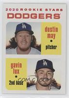 Rookie Stars - Gavin Lux, Dustin May #/50