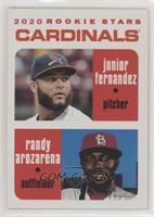Rookie Stars - Junior Fernandez, Randy Arozarena #/50