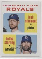 Rookie Stars - Josh Staumont, Bubba Starling #/50