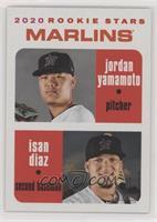 Rookie Stars - Jordan Yamamoto, Isan Diaz #/50