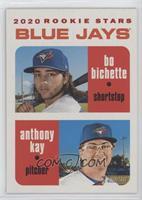 Rookie Stars - Anthony Kay, Bo Bichette #/50